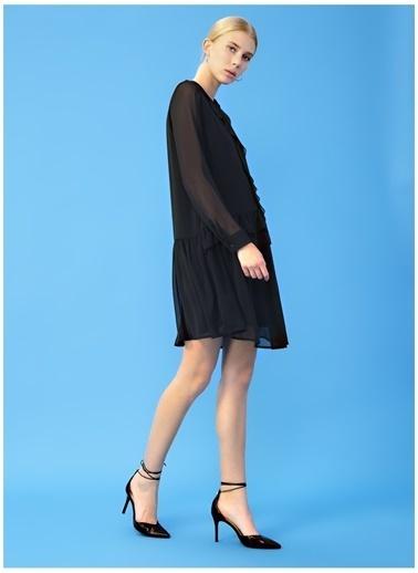 Derin Mermerci X Boyner Elbise Siyah